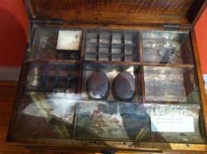 Delacroix's artist box